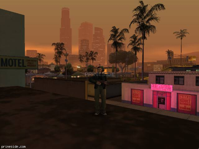 GTA San Andreas weather ID 3 at 23 hours