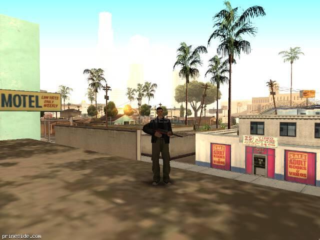 Просмотр погоды GTA San Andreas с ID 3 в 8 часов