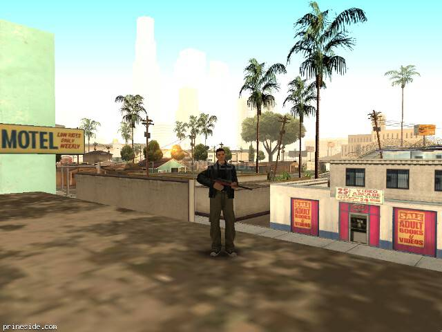 GTA San Andreas weather ID 3 at 9 hours