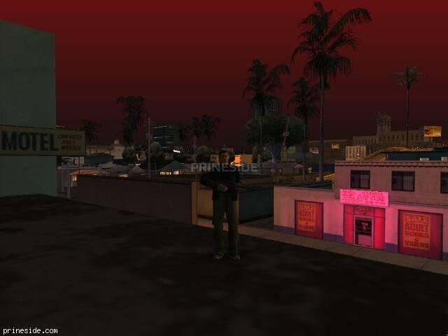 Просмотр погоды GTA San Andreas с ID 30 в 23 часов
