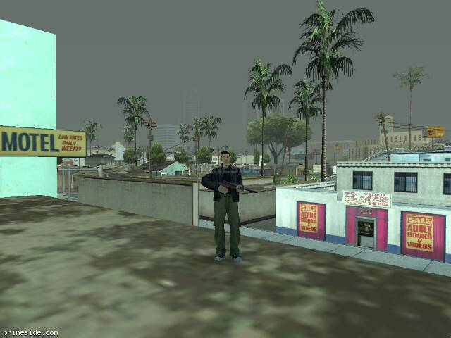 Просмотр погоды GTA San Andreas с ID -225 в 14 часов