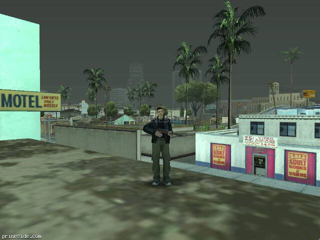 Просмотр погоды GTA San Andreas с ID 31 в 20 часов