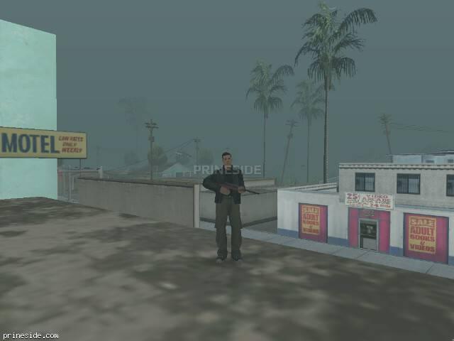 Просмотр погоды GTA San Andreas с ID 32 в 17 часов