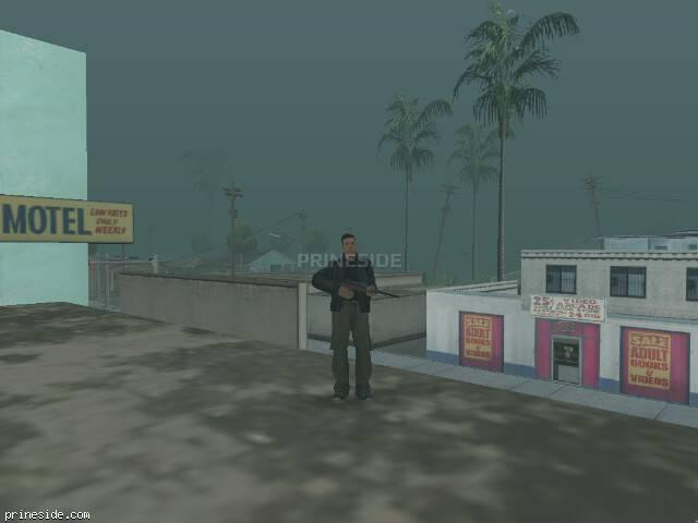 Просмотр погоды GTA San Andreas с ID 32 в 18 часов