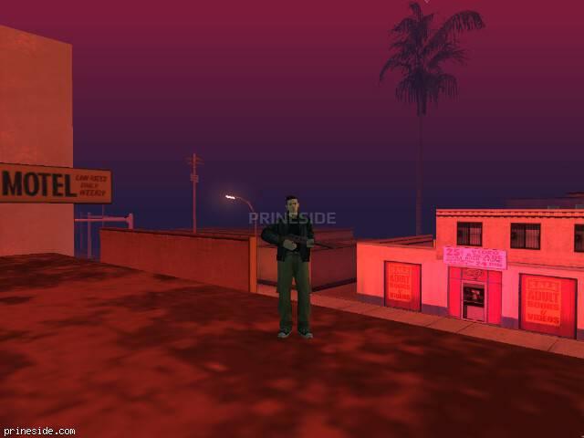 Просмотр погоды GTA San Andreas с ID 32 в 21 часов