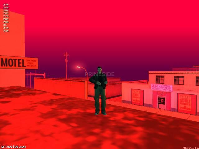 Просмотр погоды GTA San Andreas с ID 32 в 22 часов