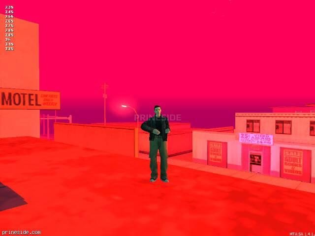 Просмотр погоды GTA San Andreas с ID 32 в 23 часов