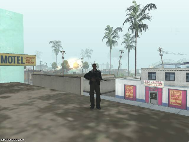 Просмотр погоды GTA San Andreas с ID 32 в 7 часов