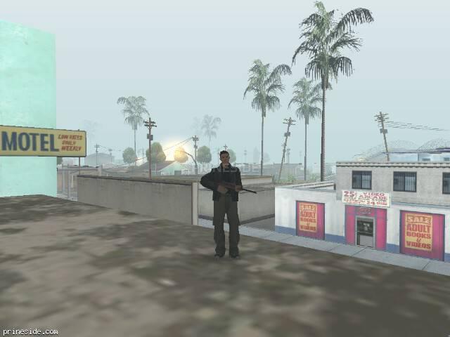 Просмотр погоды GTA San Andreas с ID 32 в 8 часов