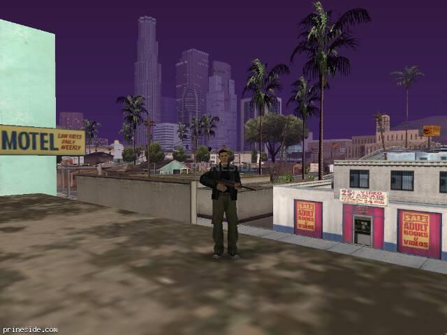 Просмотр погоды GTA San Andreas с ID 33 в 20 часов