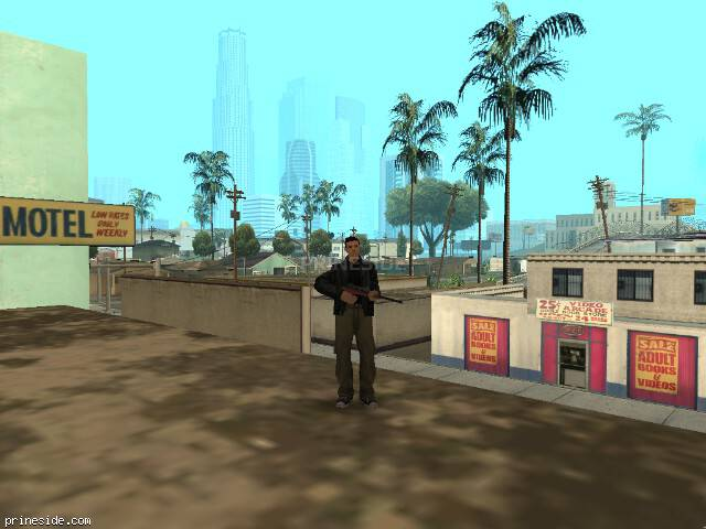 GTA San Andreas weather ID 34 at 10 hours