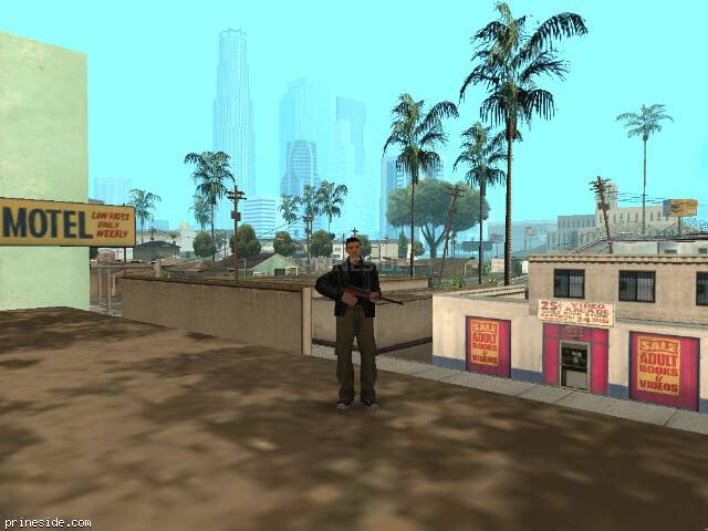 GTA San Andreas weather ID 34 at 11 hours