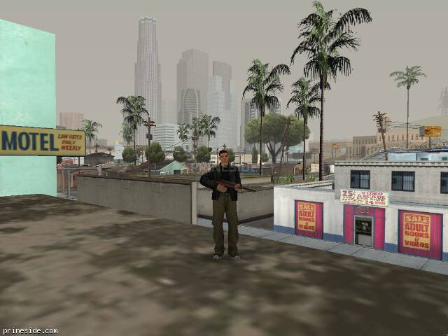 GTA San Andreas weather ID 803 at 16 hours