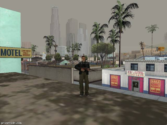 GTA San Andreas weather ID 35 at 18 hours
