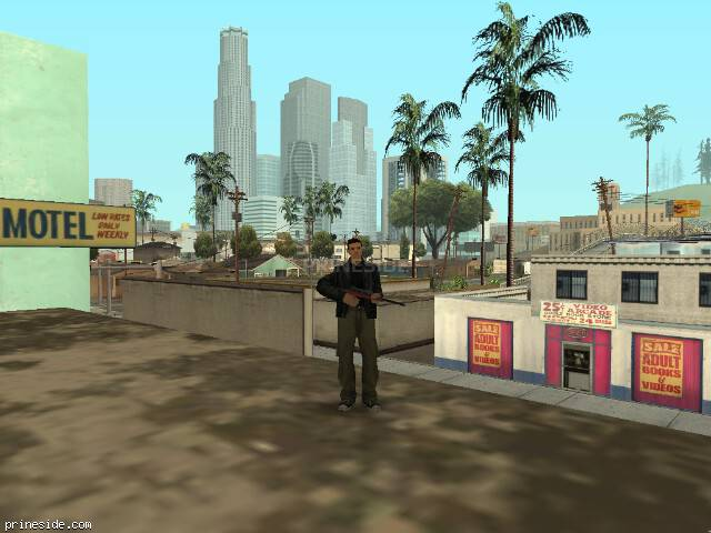 GTA San Andreas weather ID 36 at 10 hours