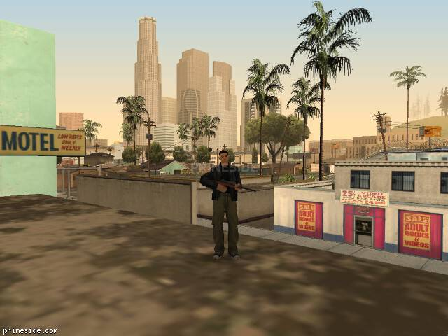GTA San Andreas weather ID 1316 at 17 hours