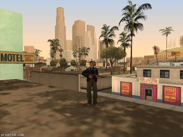 GTA San Andreas weather ID 1828 at 19 hours