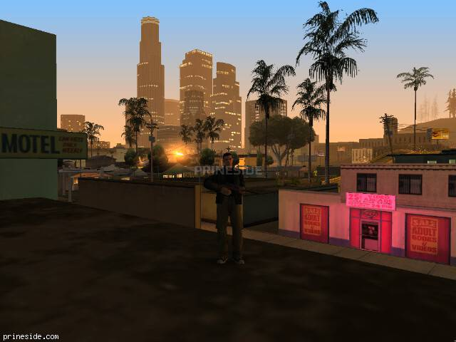 GTA San Andreas weather ID 2084 at 4 hours