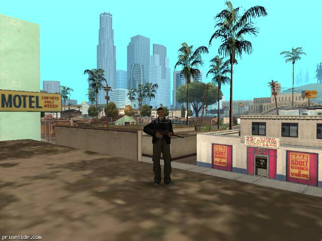 GTA San Andreas weather ID 1828 at 8 hours