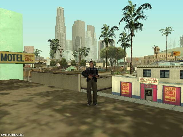 GTA San Andreas weather ID 37 at 11 hours