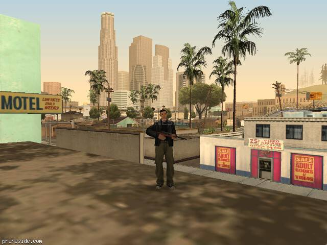 GTA San Andreas weather ID -731 at 17 hours