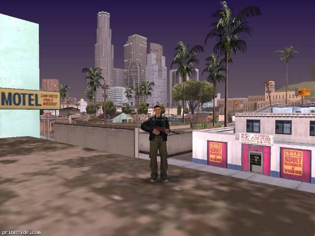 Просмотр погоды GTA San Andreas с ID 37 в 20 часов