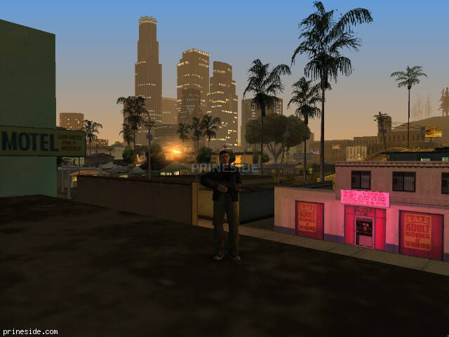 GTA San Andreas weather ID -731 at 3 hours