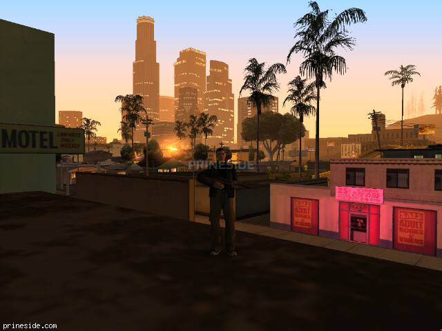 GTA San Andreas weather ID 37 at 5 hours