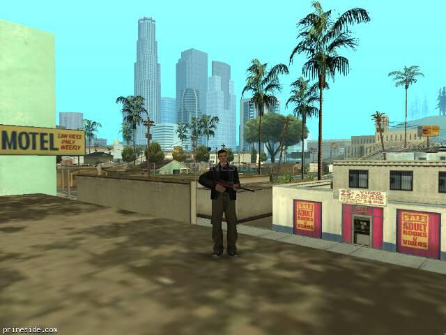 Просмотр погоды GTA San Andreas с ID 37 в 8 часов