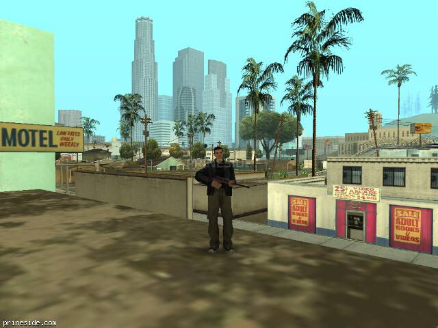 GTA San Andreas weather ID 37 at 9 hours