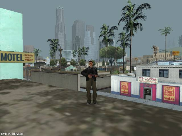 GTA San Andreas weather ID 38 at 11 hours