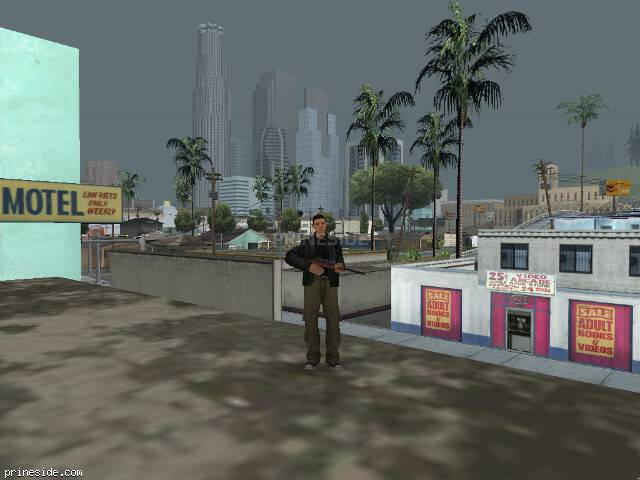 GTA San Andreas weather ID 38 at 13 hours