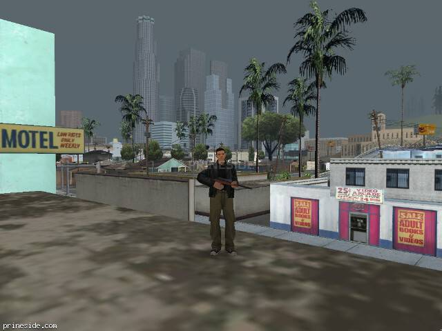 GTA San Andreas weather ID 38 at 14 hours