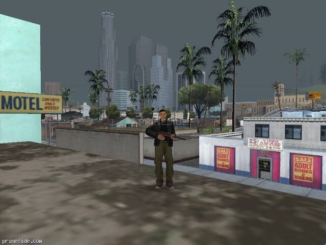 GTA San Andreas weather ID 38 at 15 hours