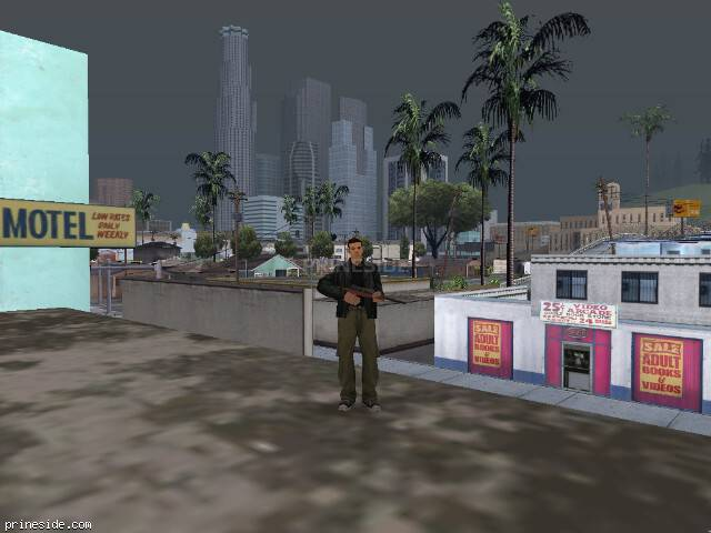 GTA San Andreas weather ID 38 at 17 hours
