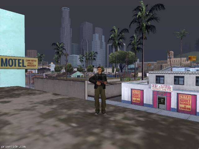 GTA San Andreas weather ID 38 at 19 hours