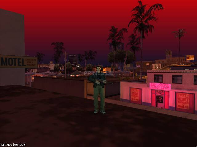 GTA San Andreas weather ID 38 at 21 hours