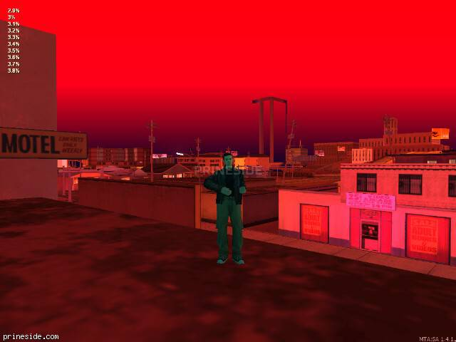 GTA San Andreas weather ID 38 at 22 hours