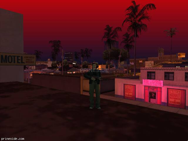 GTA San Andreas weather ID 38 at 23 hours