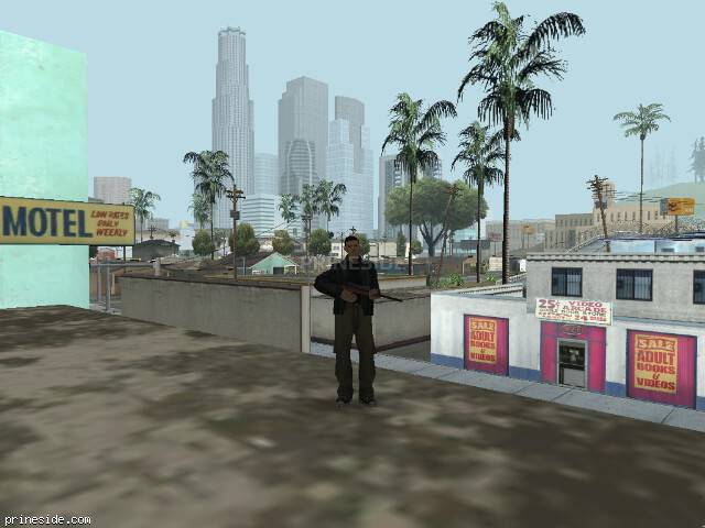GTA San Andreas weather ID 38 at 8 hours