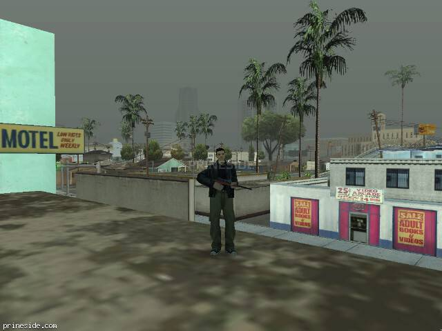 GTA San Andreas weather ID -985 at 11 hours