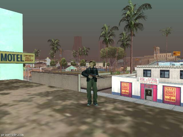 GTA San Andreas weather ID -729 at 14 hours