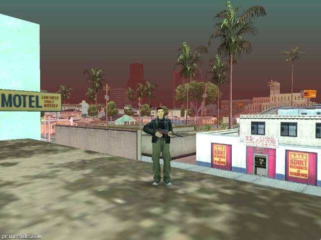 GTA San Andreas weather ID 551 at 16 hours