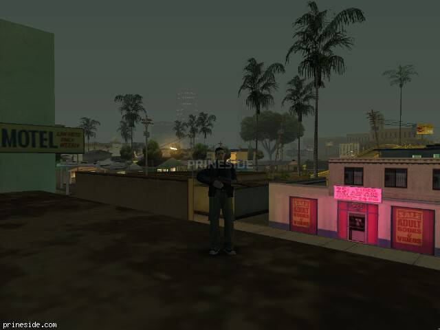 GTA San Andreas weather ID -729 at 2 hours
