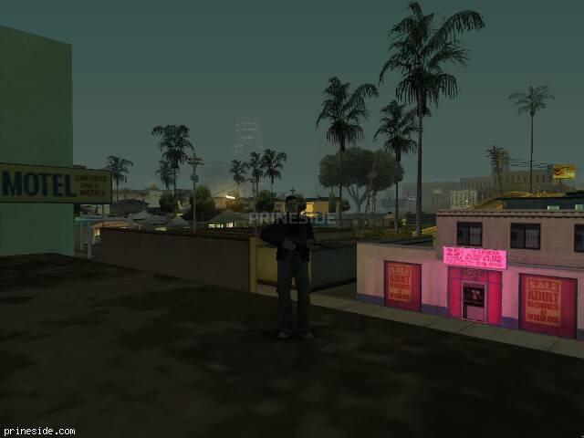 GTA San Andreas weather ID -985 at 5 hours