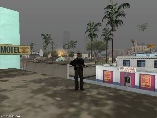 GTA San Andreas weather ID -1241 at 7 hours