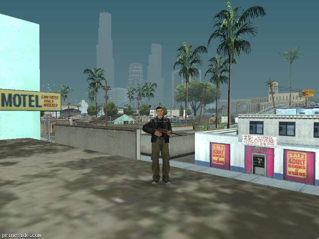Просмотр погоды GTA San Andreas с ID 4 в 20 часов
