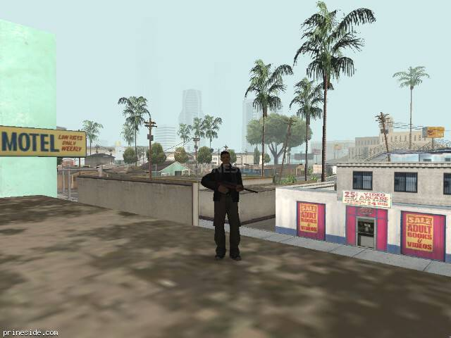 GTA San Andreas weather ID 4 at 7 hours