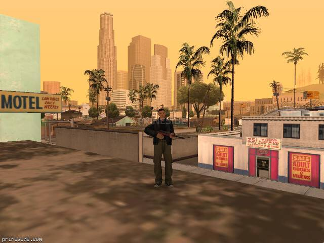 GTA San Andreas weather ID 40 at 16 hours
