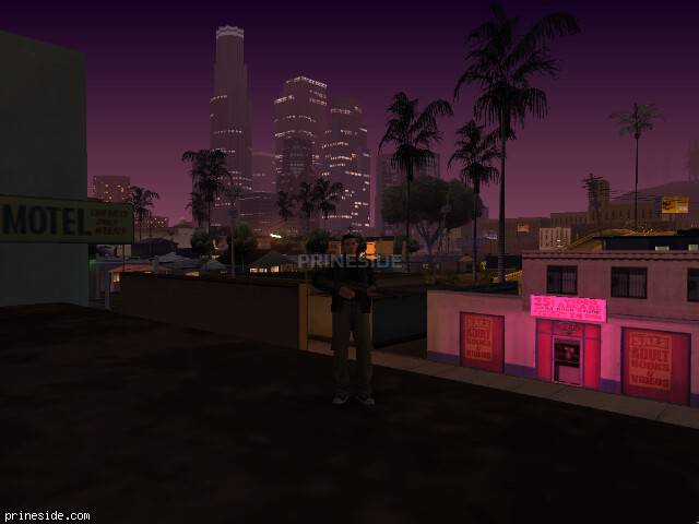 Просмотр погоды GTA San Andreas с ID 41 в 0 часов